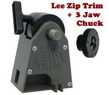 Lee Precision Zip Trim + Lee Universal 3 Jaw Chuck # 90899 + 90608 New!