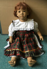 Annette Himstedt Doll LILIANE 65 cm 1990's in original clothes FREE UK P+P