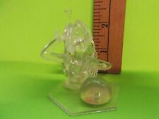 "Love Hina 2.5""in Clear Girl Figure Wading in Water Playing with Beach Ball!!"