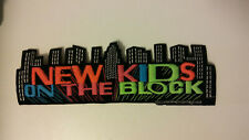 New Kids on The Block NKOTB Vintage patch superstrip large music boy band 2