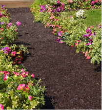 Permanent Mulch Recycled Rubber Pathway New - Free Shipping