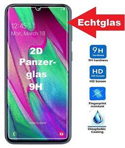Samsung Galaxy A40 Schutzglas 9H Panzerfolie Echtglas Schutzfolie Folie