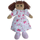 Bambola Di Pezza Fragola abito-fatta a mano-Powell Craft Media 20cm/Grande 40cm