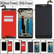 For Xiaomi Redmi Note 4X LCD Display Glass Touch Screen Digitizer + Frame + Tool