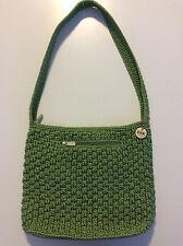 LE SAC WOMEN'S VINTAGE CROCHETED SHOULDER BAG