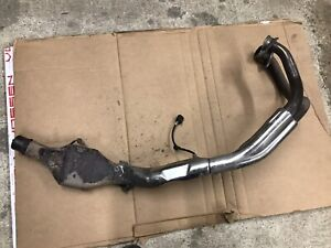 HONDA AFRICA TWIN DCT 2018 EXHAUST DOWNPIPES