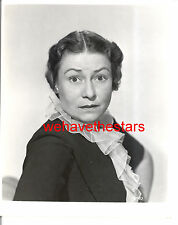 Vintage Thelma Ritter CHARACTER ACTRESS '50 ALL ABOUT EVE LB Publicity Portrait