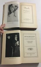 Nijinsky And Diaghileff 1930's Biographies Hardcover Books Russia Ballet