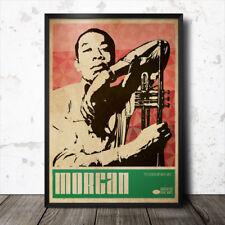 Lee Morgan Arte Cartel Música Jazz Blue Note Coltrane Charles Mingus Miles Davis
