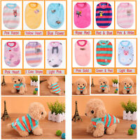 Small Pet Dog Soft Velvet Vest Coat Puppy Cat Sweatshirt Winter Apparel Clothes