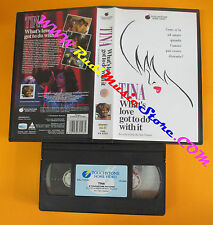 VHS TINA TURNER What's love got to do with it 1994 TOUCHSTONE no cd lp dvd(VM11)