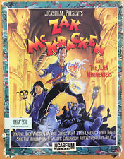 RARE Atari Zak Mckracken ST, e il gioco ALIEN Mindbenders