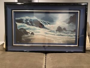 Roy Gonzalez Tabora -1994 Night Winds Artist Proof 18x36 Cibachrome