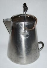 "Polar Ware (Vollrath) ~ Vintage Stainless Steel 9 Qt. ""U.S.V.A."" Coffee Pot"