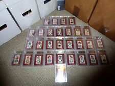 2014 Allen Ginter FRAMED MINI RELIC A CARDS Set ALL BGS 10 9.5+ JACKIE ROBINSON
