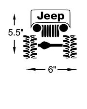 Jeep Decal Lifted Jeep Boggers sticker