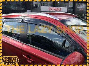 Weathershields, Weather Shields for Mitsubishi Outlander 12-21 Window Visors #T
