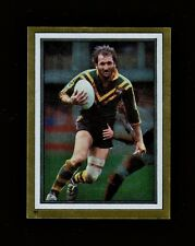 """MINT"" 1983 NRL RUGBY LEAGUE FOOTY STICKER #91 RAY PRICE AUSTRALIAN KANGAROOS"