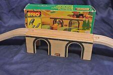 Genuine Brio Sweden Wooden Train Railway 33354 Classic Bridge