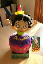"""Betty Boop 12"""" Plush Doll December Birthday Bash Cupcake 2013 Sugar Loaf in Box"""
