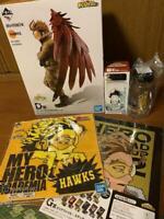 My hero academia Ichiban Kuji Prize D Hawks Figure Hiroaka Lottery Shonen