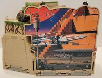 Vintage Star Wars Action Fleet Yavin Rebel Base 1997