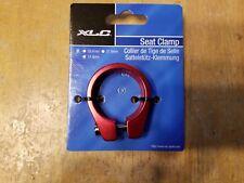 XLC Ano Red Bike Seatpost Clamp 34.9mm - BMX MTB Road - Aluminum