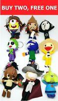 Joker Kakashi Jack Sparrow Voodoo String Doll Keyring Key Handmade New Year Gift
