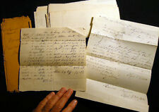 1856 HEMPSTEAD ROCKAWAY ROCKVILLE CENTRE LONG ISLAND NY DOCUMENTS MANUSCRIPTS