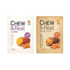 [Chungjungwon] Roasted Sweet Potato CHEW & Real / Korea Snack / 고구마 츄