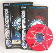 ►STARFIGHTER 3000◄ Juego de SEGA SATURN game jeu pal console CD SS virtual disc