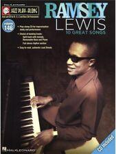 Jazz Play-Along Ramsey Lewis Learn to Alto Tenor Sax Piano Trombone MUSIC BOOK