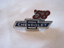 1958 CHEVROLET  YEAR , CHEVY BOWTIE ,LOGO HAT,LAPEL  PIN ,INSIGNIA