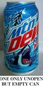 Mountain Dew Frost Bite USA 2020 EMPTY UNOPEN 12oz American Pepsi Wal*Mart Only