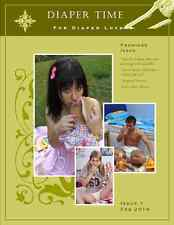 Diaper Time #1 - Adult Baby and Diaper Lover Magazine