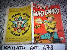TEX GIGANTE N.19 SPILLATO 200 LIRE 1°EDIZIONE AUT.478  BUONO TIPO ZAGOR-ARALDO