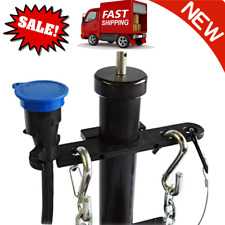 Tongue Jack Trailer Towing Organizer Plastic Chain Saver Kit Easy Install New