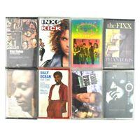 Lot of 8 80s 90s Rock Pop Vintage Cassette Tapes