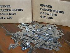 P38 Shelby Can Opener P-38 Case 500 Pack Survival Mess Kit Military USMC Army GI