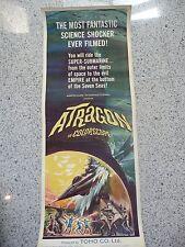 Original Vintage Movie Poster 1964 Atragon