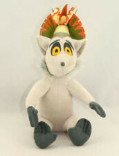 "The Penguins of Madagascar King Julien Plush Doll Stuffed Animal Toy 12"" Gift"