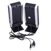 Portable Multimedia USB Mini Speaker for Computer Desktop PC Laptop Notebook
