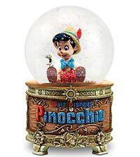 Disney Pinocchio and Jiminy Cricket Snowglobe  New in Box