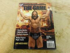 HHH The Game Career WWF Magazine w/ Poster Collector Issue 2002 Wrestler WWE