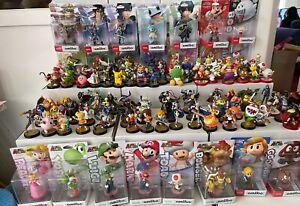 100s Amiibo Super Smash Bros & Super Mario Bros LOOSE & NEW Figures @ Sep 17th