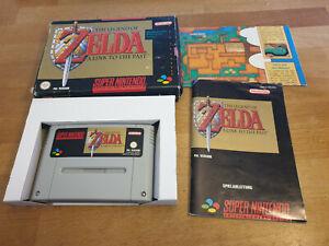 The Legend of Zelda A Link To The Past Super Nintendo SNES PAL OVP CIB