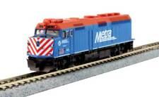 Voie N - kato Locomotive Diesel F40PH Metra 176-9104 Neu