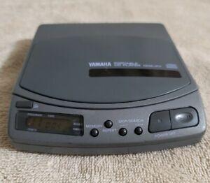 Vintage 1989 Yamaha Portable CD Player CDX-P7 TESTED WORKS Walkman