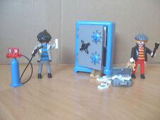 Playmobil 100% Completo Conjunto 3161 seguro galletas ladrones de banco