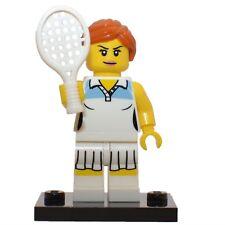LEGO - Series 3 - Tennis Player  - mini figure - Minifigure Seeries 3